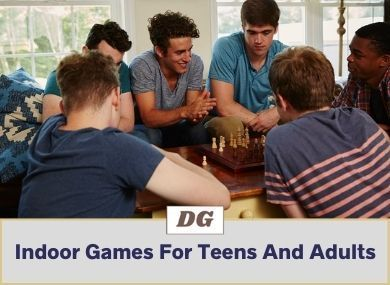 Indoor Games For Teens And Adults