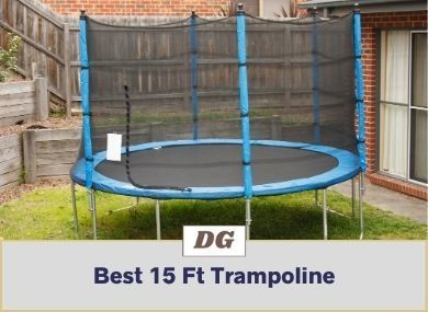 Best 15 Ft Trampoline With Safety Enclosure