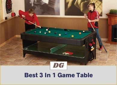 Best 3 In 1 Game Table