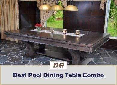 Best Pool Dining Table Combo