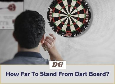 How Far To Stand From Dart Board