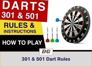 How To Play 301 & 501 Darts