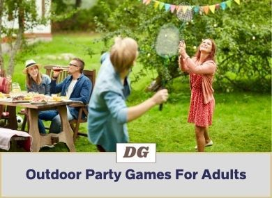 Outdoor Party Games For Adults