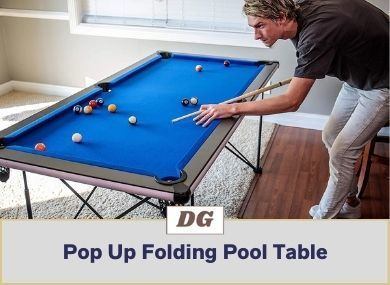 Pop Up Folding Pool Table