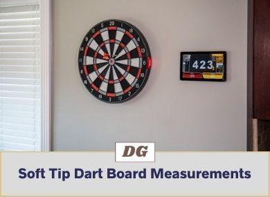 Soft Tip Dart Board Measurements