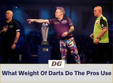 What Weight Of Darts Do The Pros Use