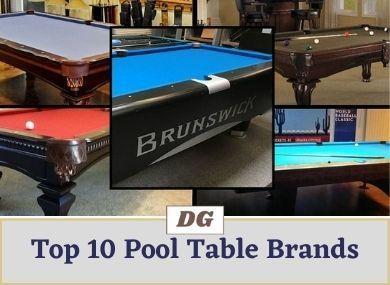 Top 10 Pool Table Brands