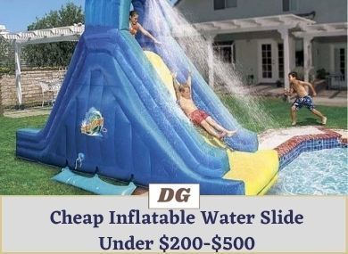 Cheap Inflatable Water Slide Under $200 $300 $400 $500